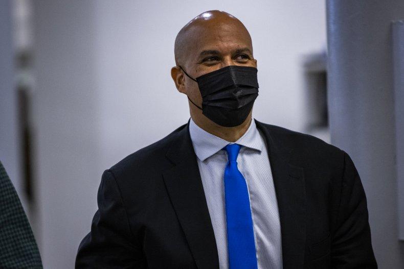 Sen. Cory Booker (D-NJ) at the Capitol