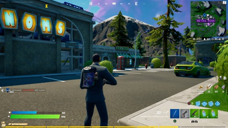 Fortnite Retail Row Phone Booth Location