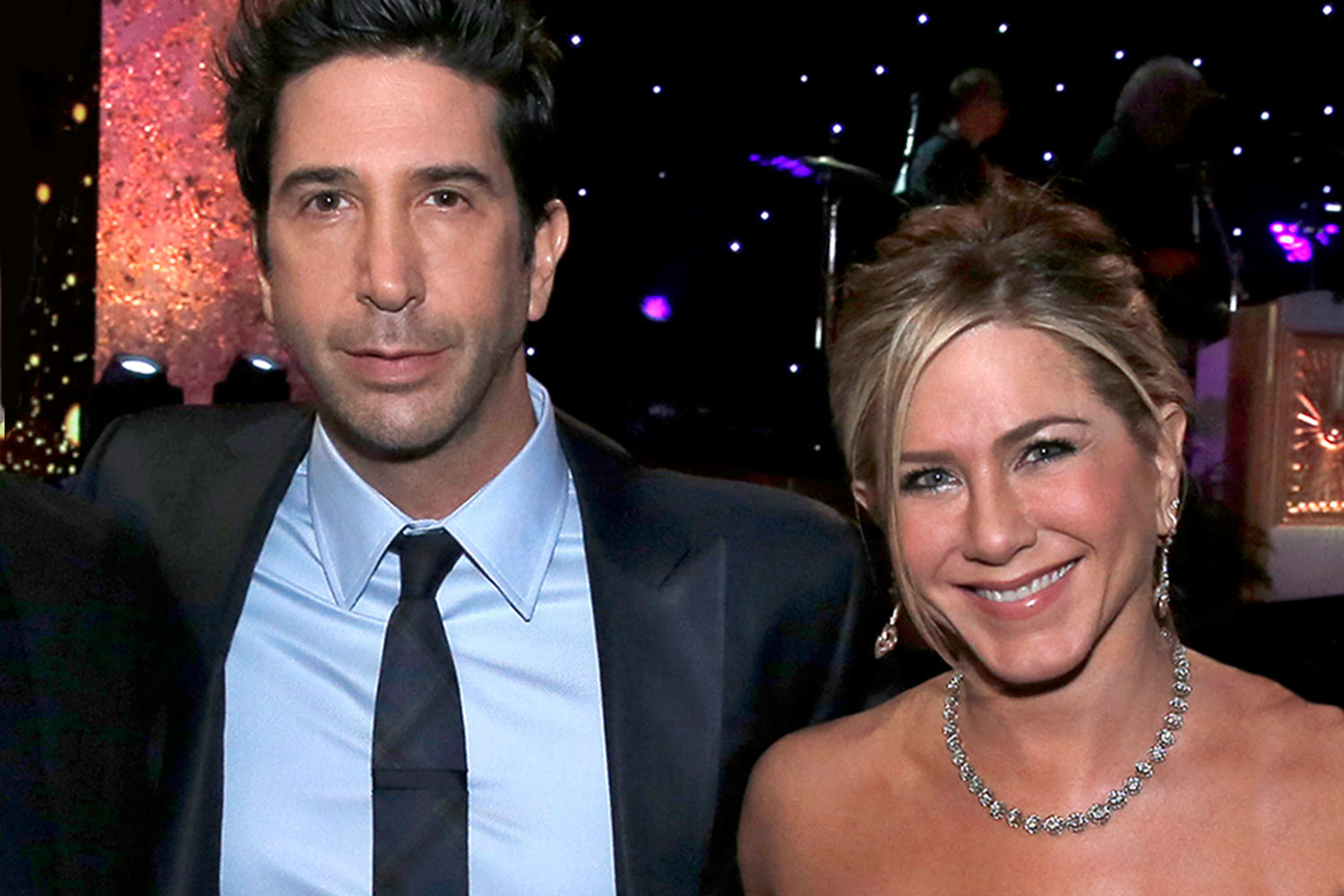 Jennifer Aniston and David Schwimmer on Their Romantic Chemistry at the  'Friends' Reunion