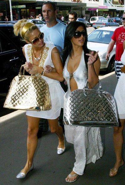 Paris Hilton and Kim Kardashian in 2006