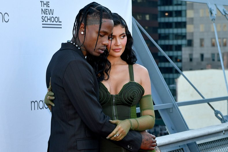 Travis and Kylie 2021