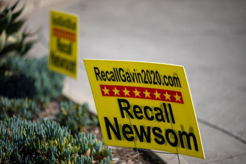 gavin newsom recall democrats republicans election