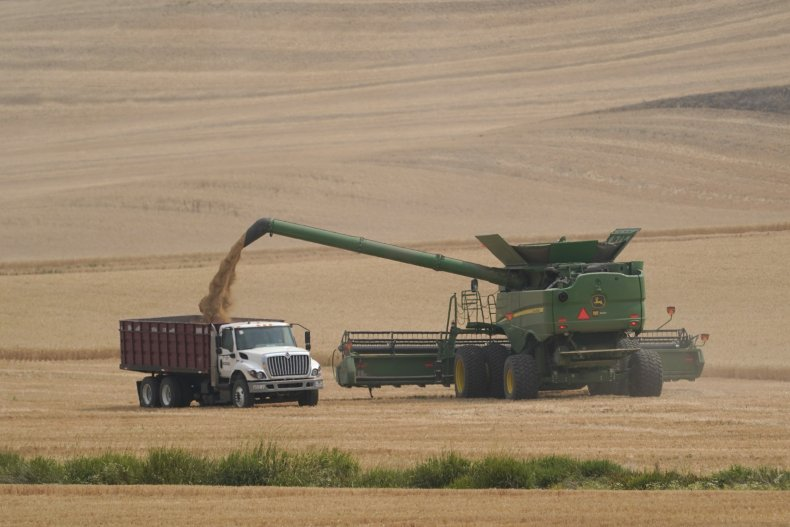 Wheat Farmers Washington State