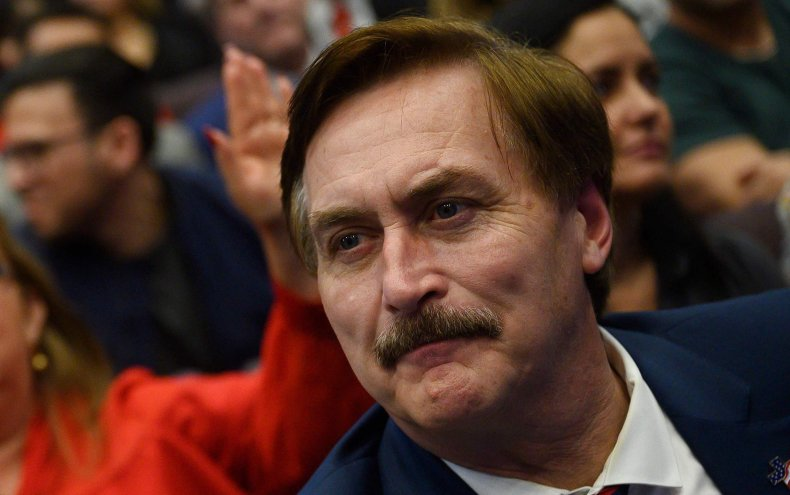 Steve Bannon Mike Lindell cyber-symposium election reciepts