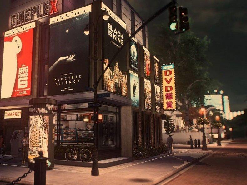 Virtual movie theaters- Sims