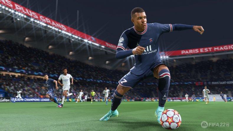Kylian Mbappé in FIFA 22