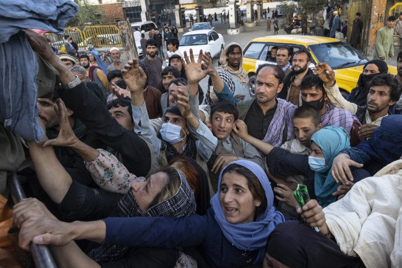 Displaced Afghans Flee To Kabul As Taliban