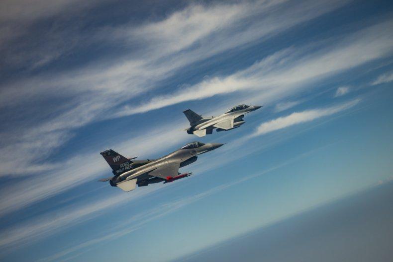 US, South, Korea, Air, Force, F-16, training