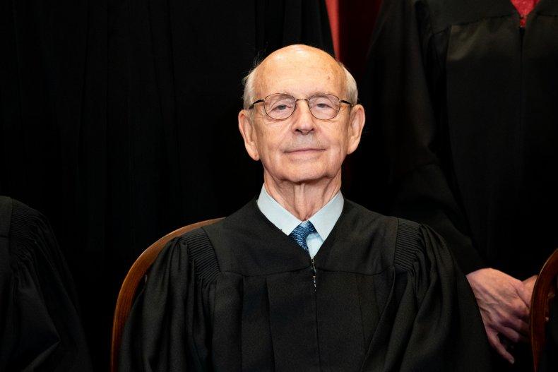 Stephen Breyer 83rd birthday