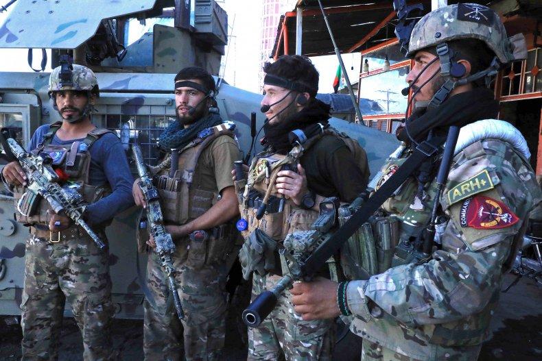 ANA troops in Herat amid Taliban advance