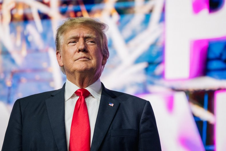 Donald Trump Enters a Rally in Arizona