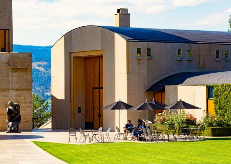 Canada - Mission Hill Family Estate, Okanagan Valley, British Columbia