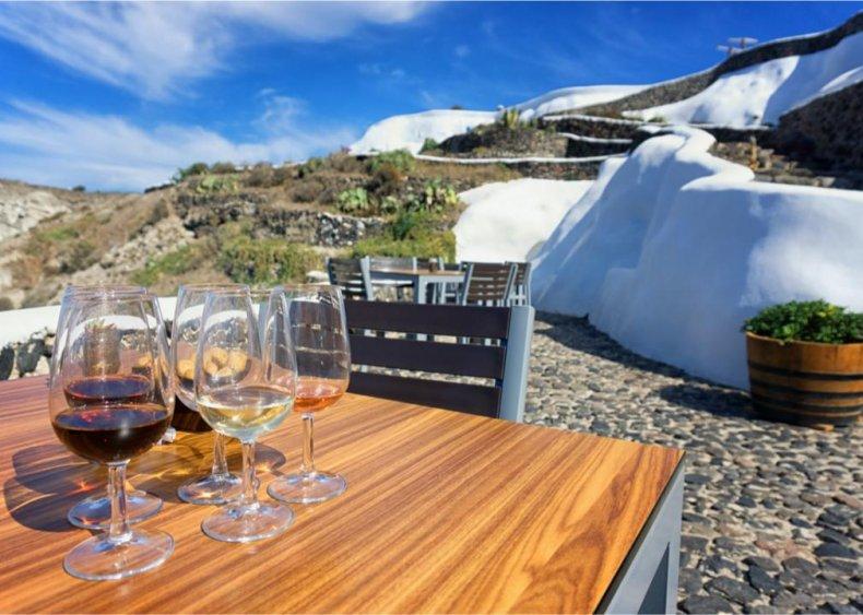 Greece - Venetsanos Winery, Santorini