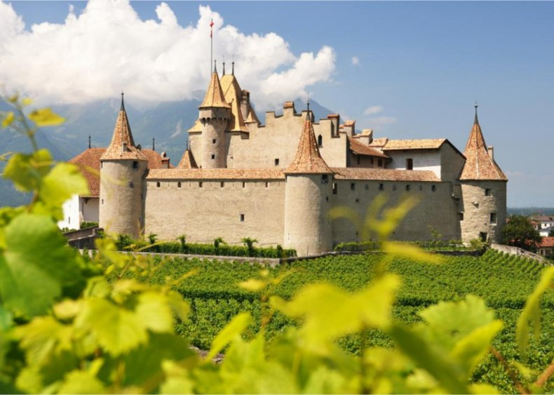Switzerland - Chateau d'Aigle, Rhone Valley