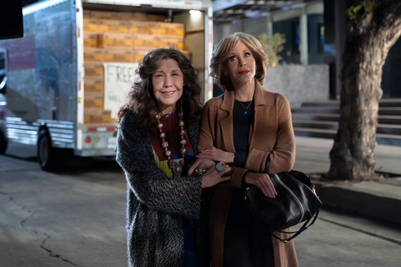 Grace and Frankie cast ages