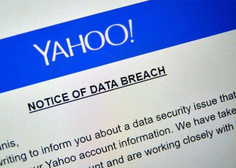 2013: Yahoo data breach