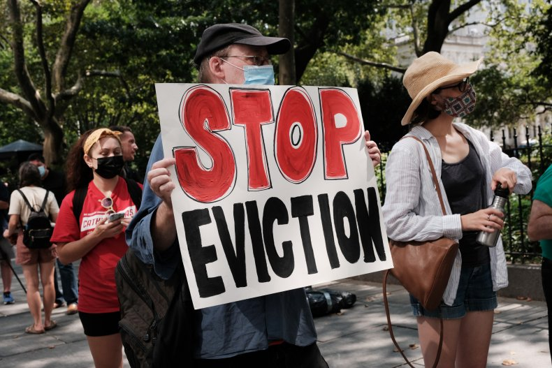 Stop Evictions Activist