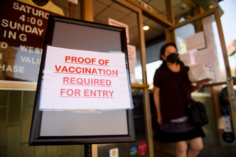 Businesses start to enforce vaccination requirements