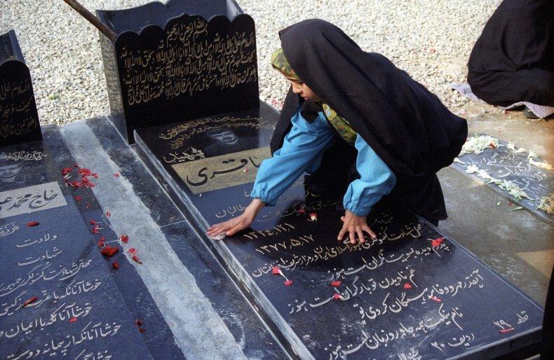 Iran, diplomat, slain, Afghanistan, daughter, grave