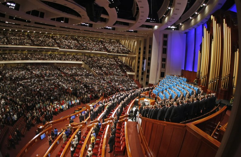 Mormons Gather For LDS Church's Semiannual Conference