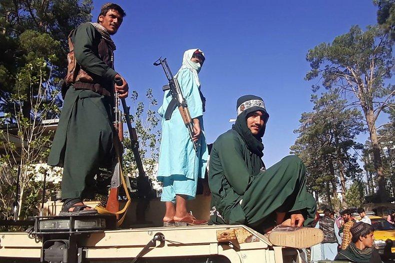 Taliban, fighters, Herat, Afghanistan