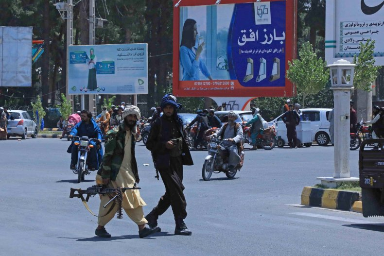 Taliban seize all major cities except two