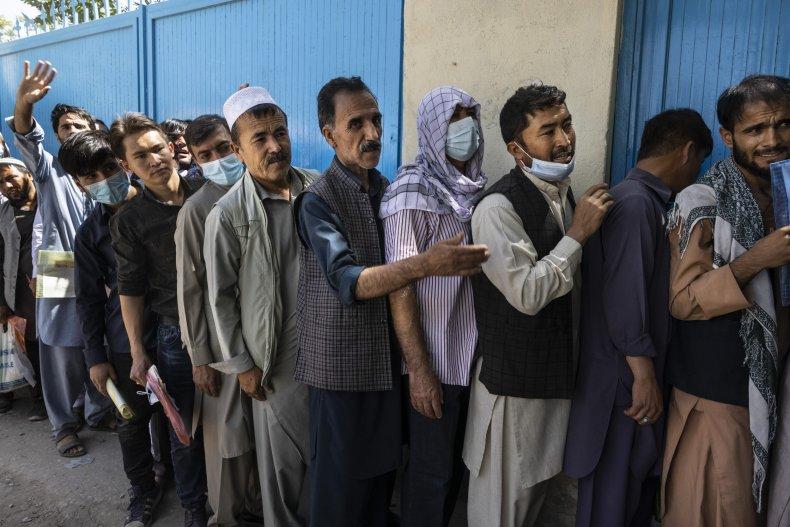 Passport office in Kabul