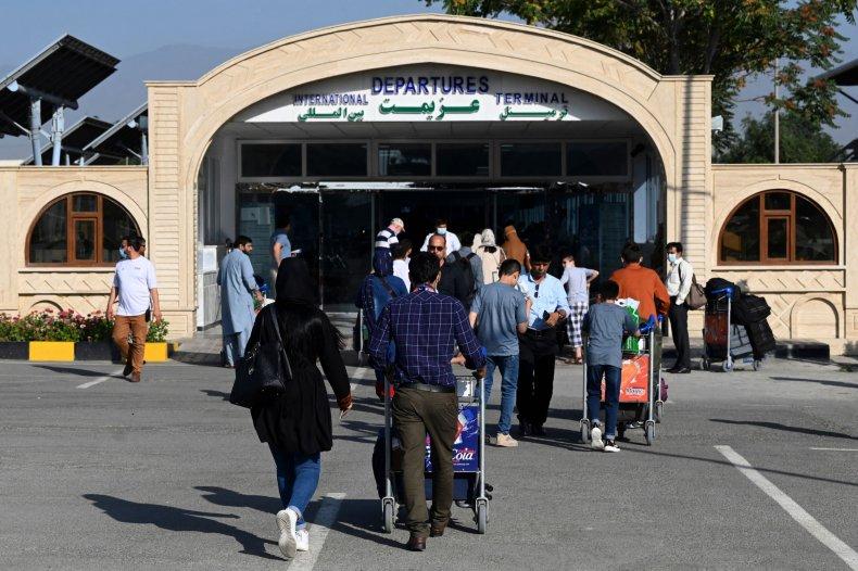 Airport in Kabul