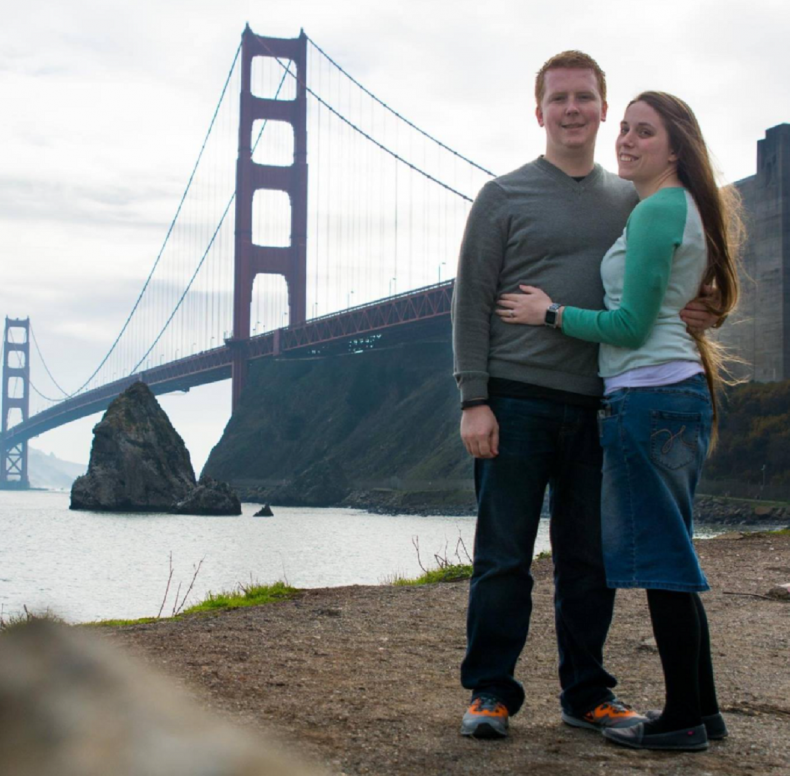 Abby and Allen Burch in San Francisco.