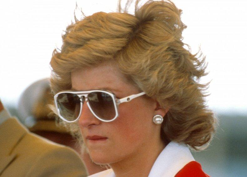Princess Diana in Sunglasses