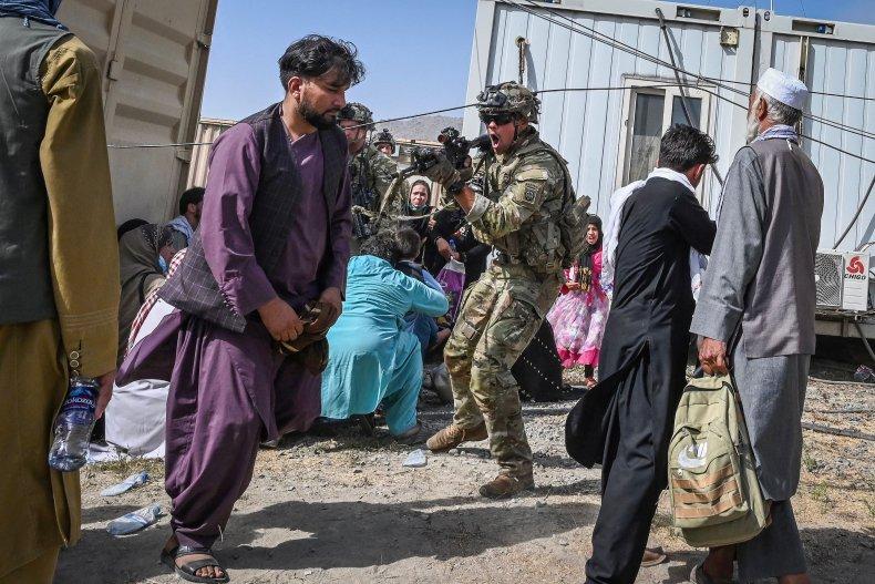Biden addresses chaos in Afghanistan