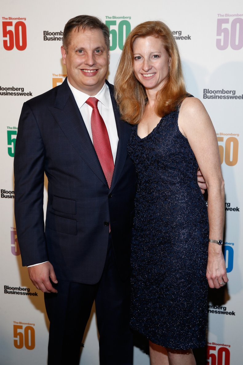 John Overdeck and wife Laura