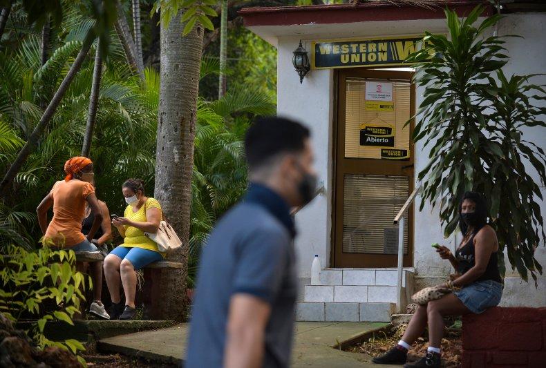 Havana, Cuba, Western Union, closed, sanctions, remittances