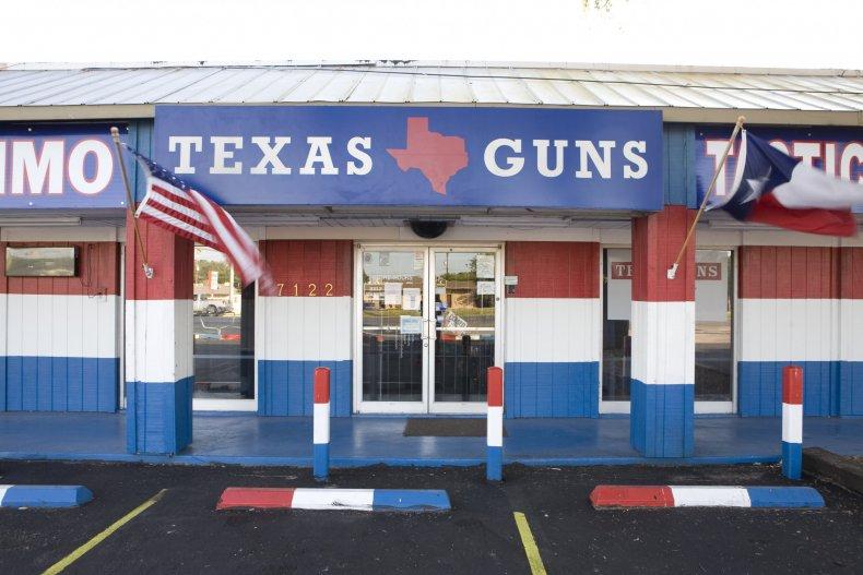 A gun dealer in Texas.