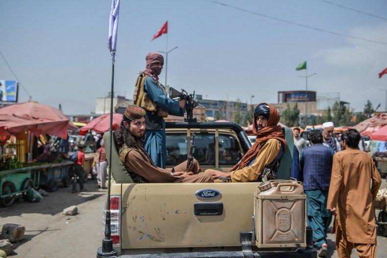 Taliban in Market