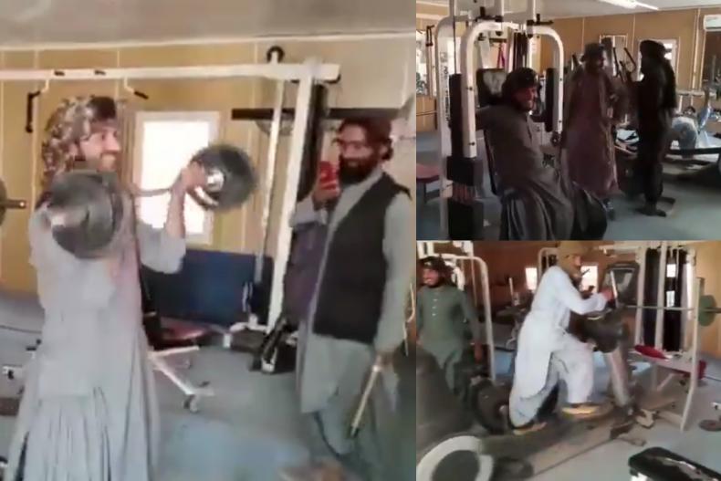 Taliban gym