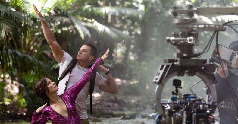 Sandra Bullock and Channing Tatum