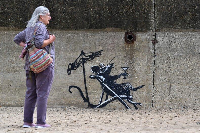 Banksy Spraycation Rat
