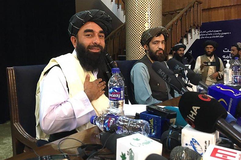Taliban, spokesperson, Zabihullah, Mujahid, Kabul