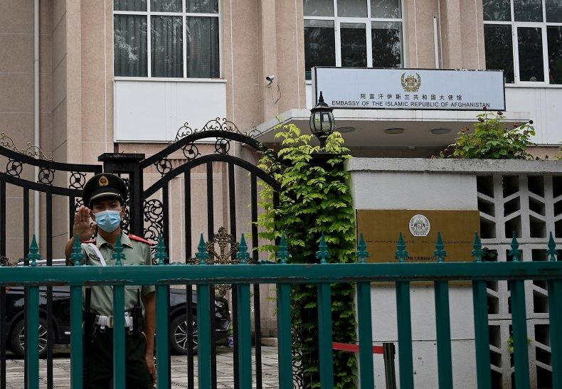 Afghanistan, embassy, Beijing, China