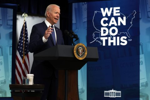 Biden, speaking on COVID