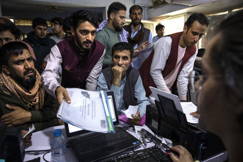 Afghan Special Immigrant Visa (SIV) applicants