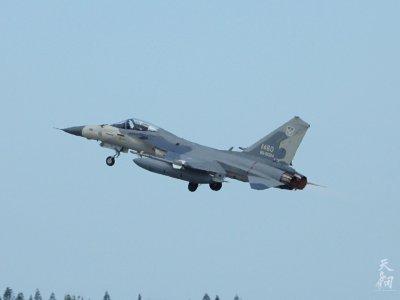 Taiwan Fighter Jets Intercept PLA Aircraft