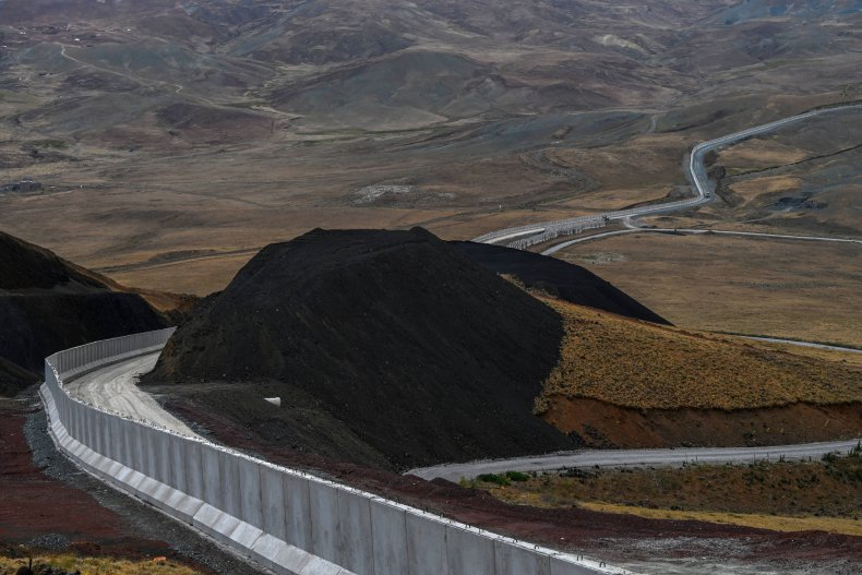 Turkish-Iranian border