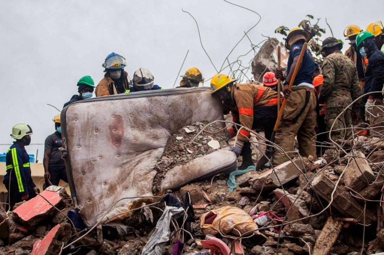 Haiti Earthquake Rescue Workers