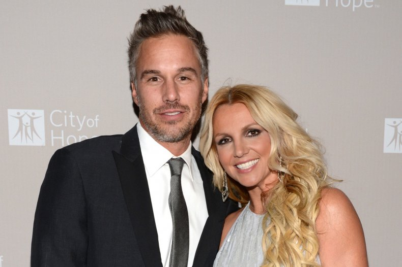 Britney Spears and ex Jason Trawick