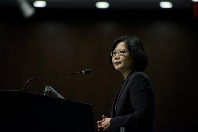 Taiwan President Signals Self-Defense Resolve