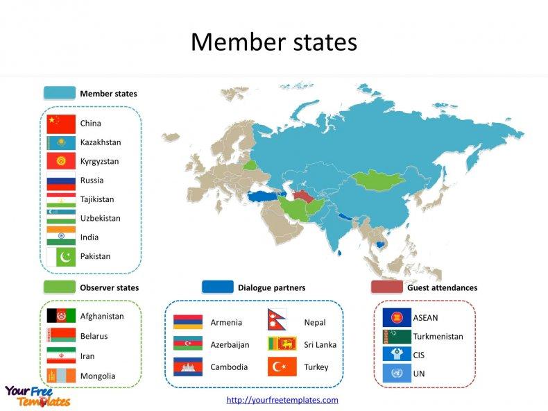 Shanghai, Cooperation, Organization, member, states