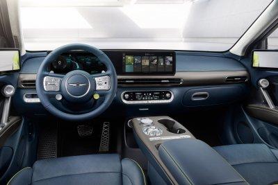 2023 Genesis GV60 interior