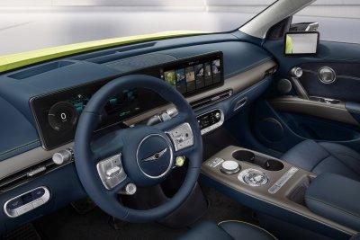 2023 Genesis GV60 steering wheel